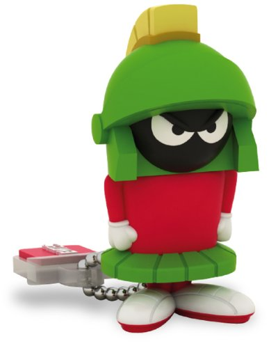 EMTEC Looney Tunes 8 GB USB 2.0 Flash Drive, Marvin the Martian