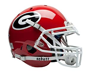NCAA Georgia Bulldogs Authentic XP Football Helmet by Schutt