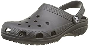 Crocs Classic Unisex - Erwachsene Clogs, Schwarz (Black 001), EU 44/45 (US M11)