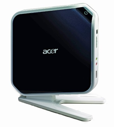 Acer Aspire Revo R3610 Desktop PC (Intel Atom 330, 1.6 GHz, 2048MB RAM, 250GB HD, LAN WLAN, Windows 7 Home Premium, Integrated Graphics Plus Wireless Keyboard and Mouse