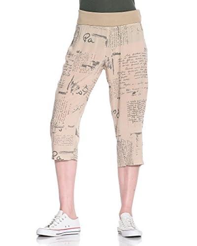 Eccentrica Pantalone Costina St.Scritte