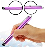 Wayzon Purple High Capacitive / Resistive Soft Rubber Tip Touch Screen Stylus Pen Suitable For LG 8575 Samba / Apex / Axis / BL40 New Chocolate / C710 Aloha