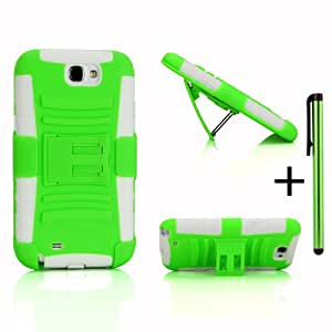 Shock and Drop Proof Dual Layer Protective Case&Holster Combo W/ Free Stylus for Verizon/AT&T/T-Mobil...
