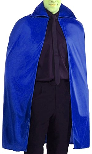 Forum Novelties 45-Inch Blue Cape, Blue, One Size