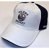 NHL Edmonton Oilers Slouch Strap Back Reebok Hat - Osfa - EZH77