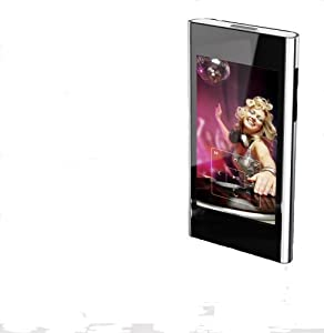 Coby 3 Inch LCD High-Resolution Video MP3 Player with Touchscreen 4 GB MP836-4G (Black) (Discontinued by manufacturer)
