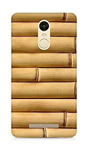 Amez designer printed 3d premium high quality back case cover for Xiaomi Redmi Note 3 (Bamboo vertical wood Texture)