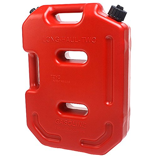 AULLY PARK Poly Gas Can with Flexible Spout - 2.6 Gallon Capacity (Jeep Jerry Can Holder compare prices)