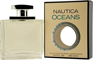 Nautica Oceans by Nautica  for Men – 3.4 Ounce EDT Spray