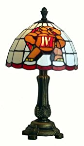 University of Maryland Terrapins Stained Glass Accent Lamp (16) by Campus Authentic