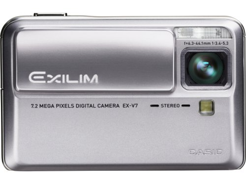 Casio EXILIM Hi-ZOOM EX-V7 is one of the Best Compact Point and Shoot Digital Cameras for Travel, Action, and Low Light Photos Under $200