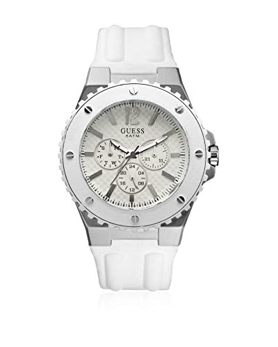 GUESS Reloj de cuarzo Man Blanco 45 mm