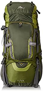High Sierra Titan 65 Frame Pack Amazon/Pine/Leaf