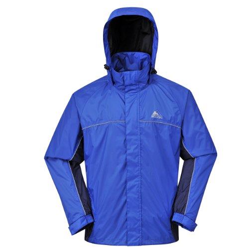 Cox Swain Funktions -/ Regenjacke Helki - 8.000mm Wassersäule / 5.000mm Atmungsaktivität, Farbe: Blue/Navy, Größe: M
