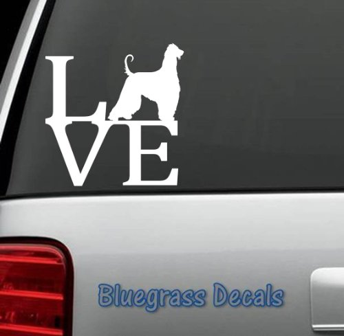 afghan hound merchandise - decal