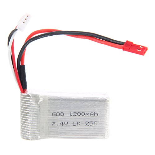 WLtoys A949 Spare Part Upgraded 74V 1200mAh Li-Po Battery Compatible with A959 A969 A979 WL911 WL912 V912 V913 V262 L959 T23 T55 F45