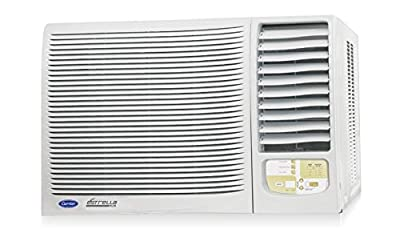 Carrier 24K Estrella Plus Window AC (2 Ton, 3 Star Rating, White)