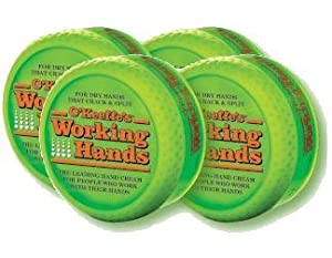 O'Keeffe's® Working Hands® Cream, 3.4 oz. - 4 Pack