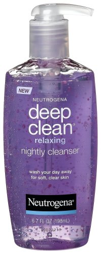 Neutrogena Deep Clean Relaxing Nightly Cleanser, 6.7 Ounce