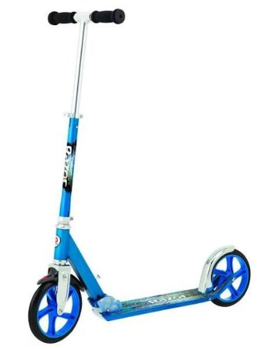 Razor A5 Lux Adult Folding Kick Scooter Blue New Same Day Ship. My Gn