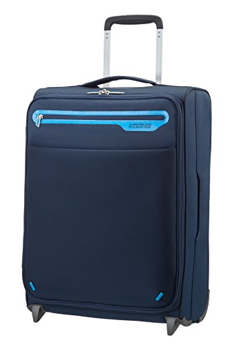 American Tourister Lightway Super Light Upright 55/20, 2 Ruote, 39.5 Litri, Midnight Navy