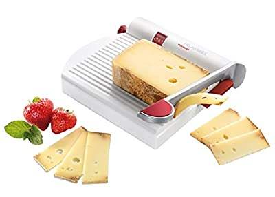 Westmark Cheese Slicer With Stainless Steel Blade And Board Doubles As A Meat And Sausage Slicer