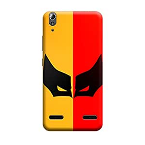 Lenovo Vibe P1m Batman Mask Premium Designer Polycarbonate Hard Back Case Cover with full Protection