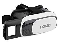 Domo Vr9 For Smart Phones Upto 3.5 To 6 Screen 3D Video Vr Headset And Best Support For Lenovo Theatermax Lenovo K4 Note, K5 Note & Vibe X3