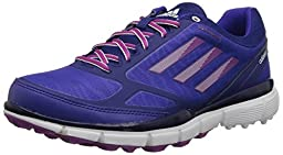 adidas Women\'s W Adizero Sport III Golf Shoe, Night Flash/Amazon Purple/Lucky Pink, 10 M US