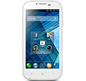 Lenovo A706  Pearl White  available at Amazon for Rs.9500
