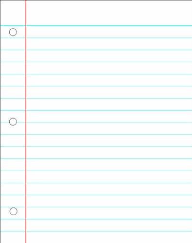 Carson Dellosa Notebook Paper Chart (8715)