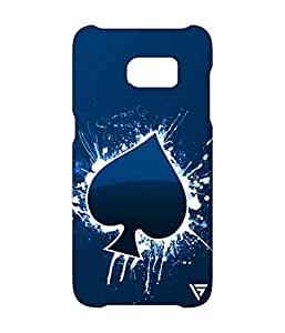 Vogueshell Blue Ace Printed Symmetry PRO Series Hard Back Case for Samsung Galaxy S7