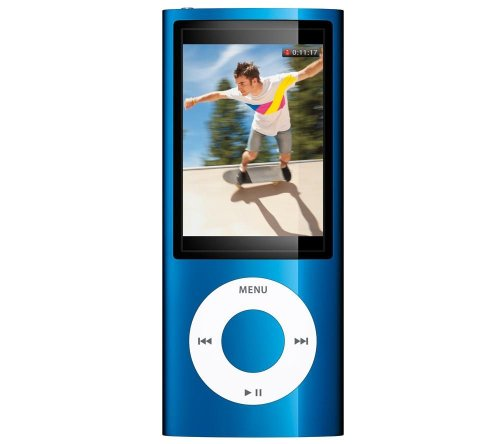 iPod nano 16 Go bleu (5G) - Caméra Vidéo - Radio FM - NEW