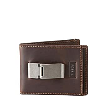 Fossil Sam Id Bifold Wallet Ml3083200 Color: Brown Wallet