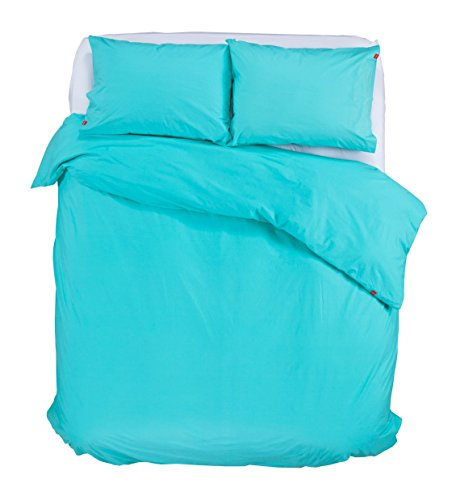 Swenyo Duvet Cover Teal Twin Bedding Sets