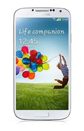 Samsung Galaxy S4 Smartphone (12,7 cm (4.99 Zoll) AMOLED-Touchscreen, 16 GB interner Speicher, 13 Megapixel Kamera, LTE, Android 4.2) - Weiß [EU-Version]