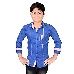 AEDI Little Casual Cotton shirts for Boys (7 - 8 Years)