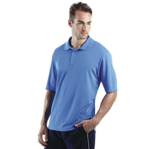 Gamegear Mens Cooltex Champion Sports Polo Shirt (2XL) (Black)