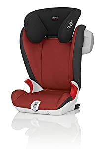 Britax KIDFIX SL SICT Group 2/3  4 - 12 Years High-Backed Booster Car Seat (Chili Pepper)