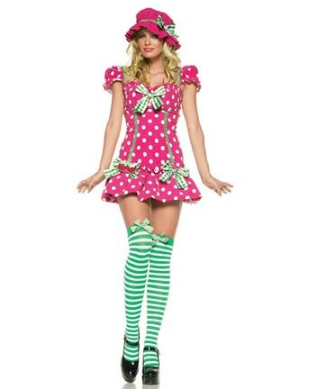 Leg Ave Women's Raspberry Girl Costume