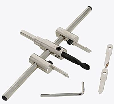 Cordless Adjustable Hole Saw Circle Cutter Drill Bits