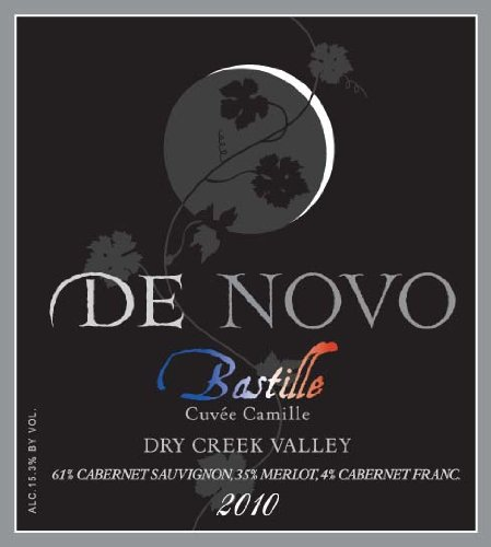 2010 De Novo Dry Creek Valley Bastille Cuvée Camille Bordeaux Red Blend 750 Ml