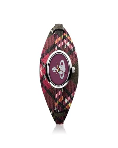 Vivienne Westwood Women's VV056PKBR Medallion Multi Leather Watch