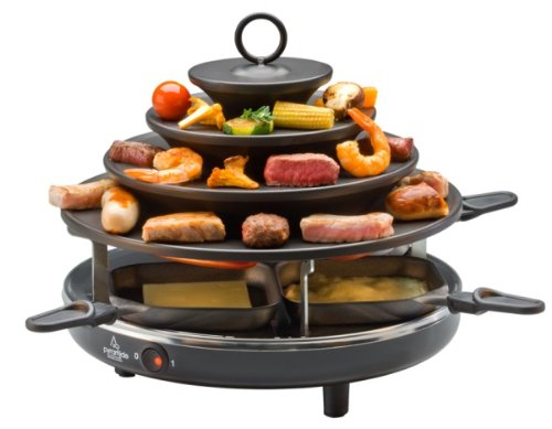 Gourmet Pyramid And Raclette Grill