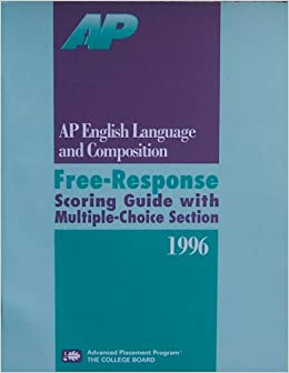 ap essay scores Taking advanced placement english how is the ap english exam scored each essay score is multiplied by 30556.