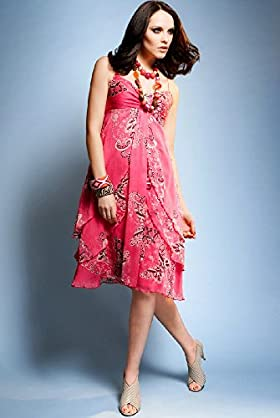 butterfly dress, spring/summer 09 trends by Marks and Spencer
