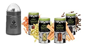 The Spicy Gourmet Organic Fragrant Garam Masala Spice Set by The Spicy Gourmet