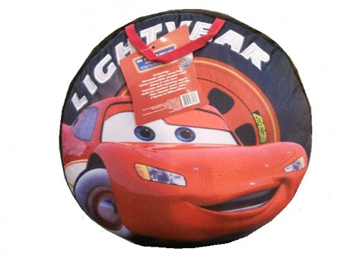 More image Disney Cars Pillow On The Go - Tire Shape