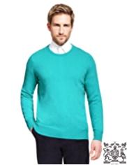 Best of British Pure Cashmere Crew Neck Jumper