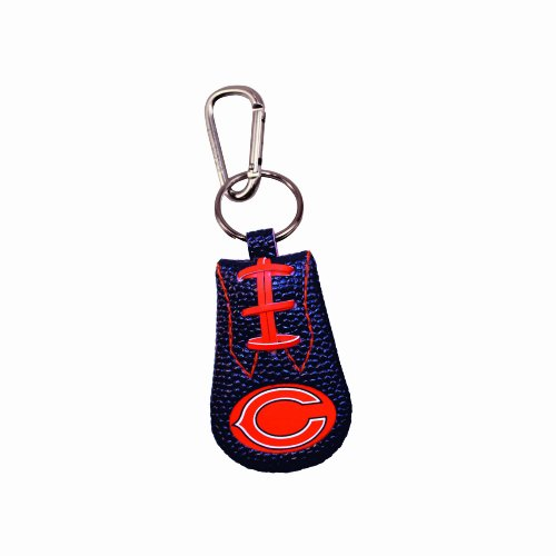 Chicago Bears Team Color Nfl Football Keychain